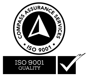 ISO 9001 Quality Accreditation Stamp